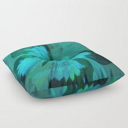Butterfly Blue Floor Pillow
