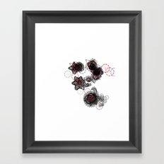 datadoodle 001 Framed Art Print