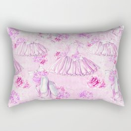 Ballerina #6 Rectangular Pillow