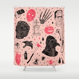Whole Lot More Horror Shower Curtain