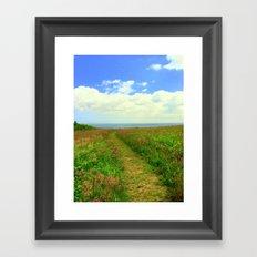 Greener Pastures Framed Art Print