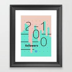 2100 Framed Art Print