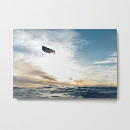 Ghost Ride / Flying High / Surf's Up Metal Print
