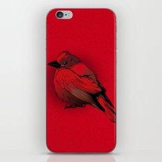 Little Red Bird iPhone & iPod Skin