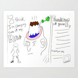 Mind-Changeringly 0003 Art Print