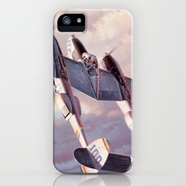 Lockheed P-38 Lightning iPhone Case