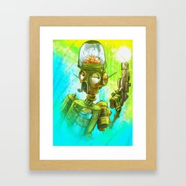 Robot army! Framed Art Print