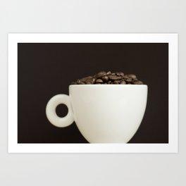 Bean to Cup? Art Print