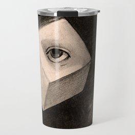 "Odilon Redon ""The Cube"" Travel Mug"