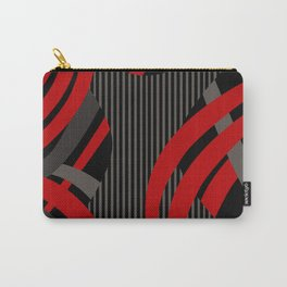 Red Wired Carry-All Pouch