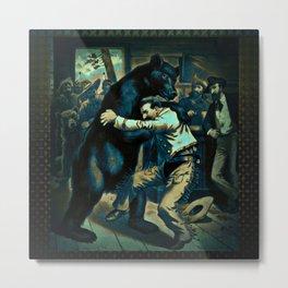 BearCurios 01 Metal Print