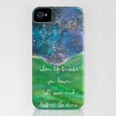 Look At The Stars iPhone (4, 4s) Slim Case