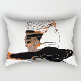 BlackbirdFlies - Ria Loader Rectangular Pillow