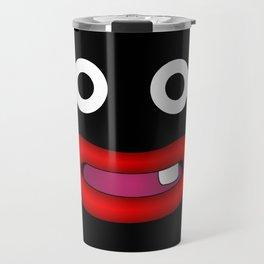Mr Popo smiling Travel Mug
