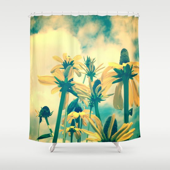 She Had a Carefree Spirit and Happy Heart Shower Curtain