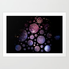 Abstract Fireworks #1 Art Print