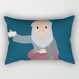 Saint Bartholomew Feast Day Rectangular Pillow