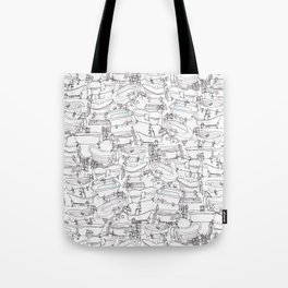 Bathtubs Tote Bag