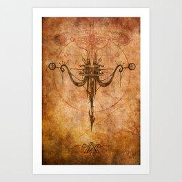 Zodiac:  Sagittarius Art Print