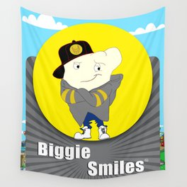 Biggie Smiles Wall Tapestry