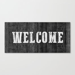 WELCOME Canvas Print