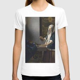 Woman Holding a Balance T-shirt