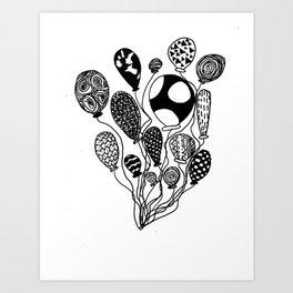 Balloon Design  Art Print
