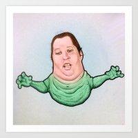 slimy boo boo Art Print