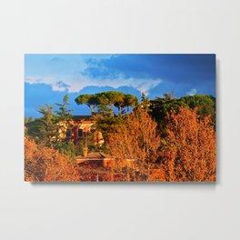 Rome: Tiber River  Metal Print