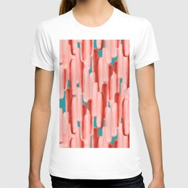 Live In Coral #society6 #abstractart T-shirt