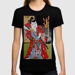 The Green Eyed Samurai T-shirt