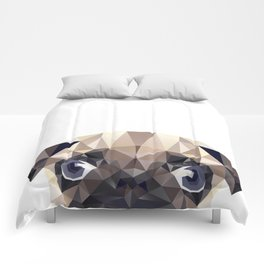 Pug Diamonds Comforters