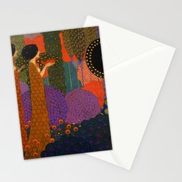 A Thousand and One Nights by Vittorio Zecchin Stationery Cards