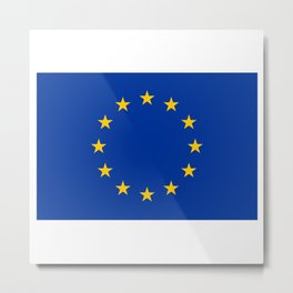 European Flag Metal Print