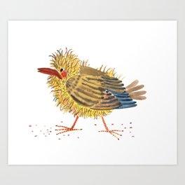 a little bird Art Print