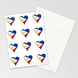 Flag of Philippines 3 -Pilipinas,Filipinas,filipino,pinoy,pinay,Manila,Quezon Stationery Cards