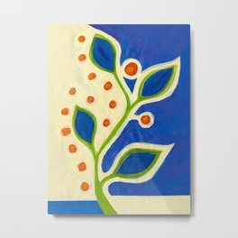 blue vine ... Metal Print