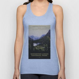 Waterton Lakes National Park Unisex Tank Top