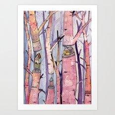 Safe House Art Print