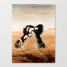 Mustang Fantasy Canvas Print