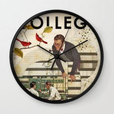Welcome to... College Wall Clock