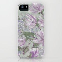 monet floral iPhone Case