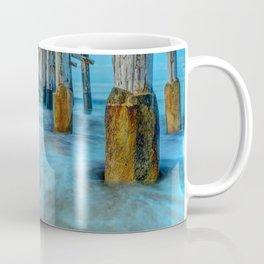 Long Exposure Under Newport Pier Coffee Mug