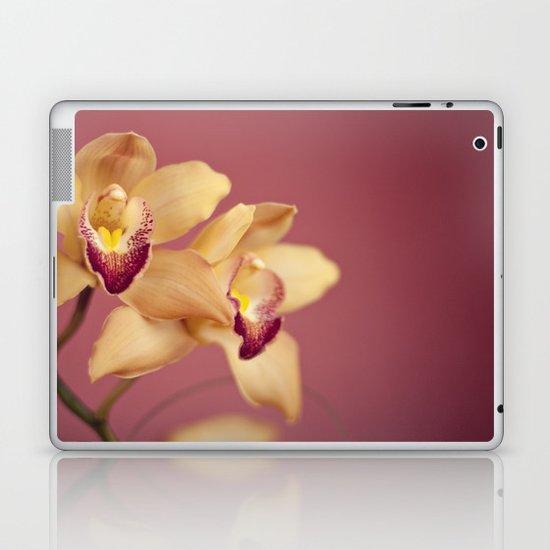 yellow orchids no. 1 Laptop & iPad Skin