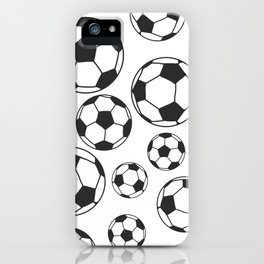 Soccer Balls iPhone Case