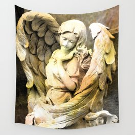 Angels We Have Heard On High Wall Tapestry