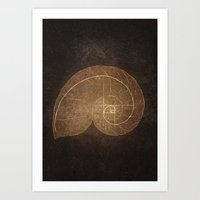 fibonacci Art Prints featuring Fibonacci by EtOfficina