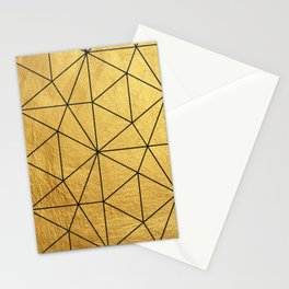 Golden Mosaic  Stationery Cards