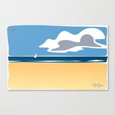 Beach Scape 1 Canvas Print