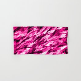 Designer Camo in Hot Pink Hand & Bath Towel